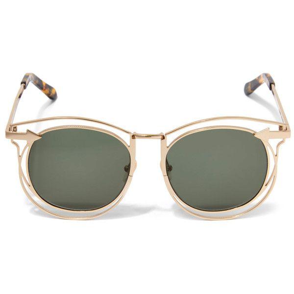 b14f609d8fbdf Karen Walker Simone Round Sunglasses (5