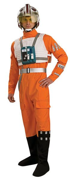 Naamiaisasu; X-Wing Pilotti Deluxe  Lisensoitu Star Wars X-Wing Pilotti Deluxe asu standardikokoisena. Olkoon Voima Kanssasi. #naamiaismaailma