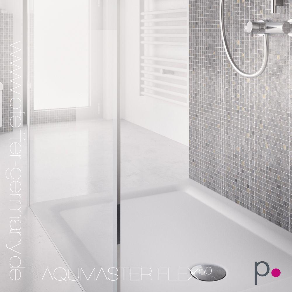 duschen auf maß gefertigt und bodengleich - vivari® aquamaster