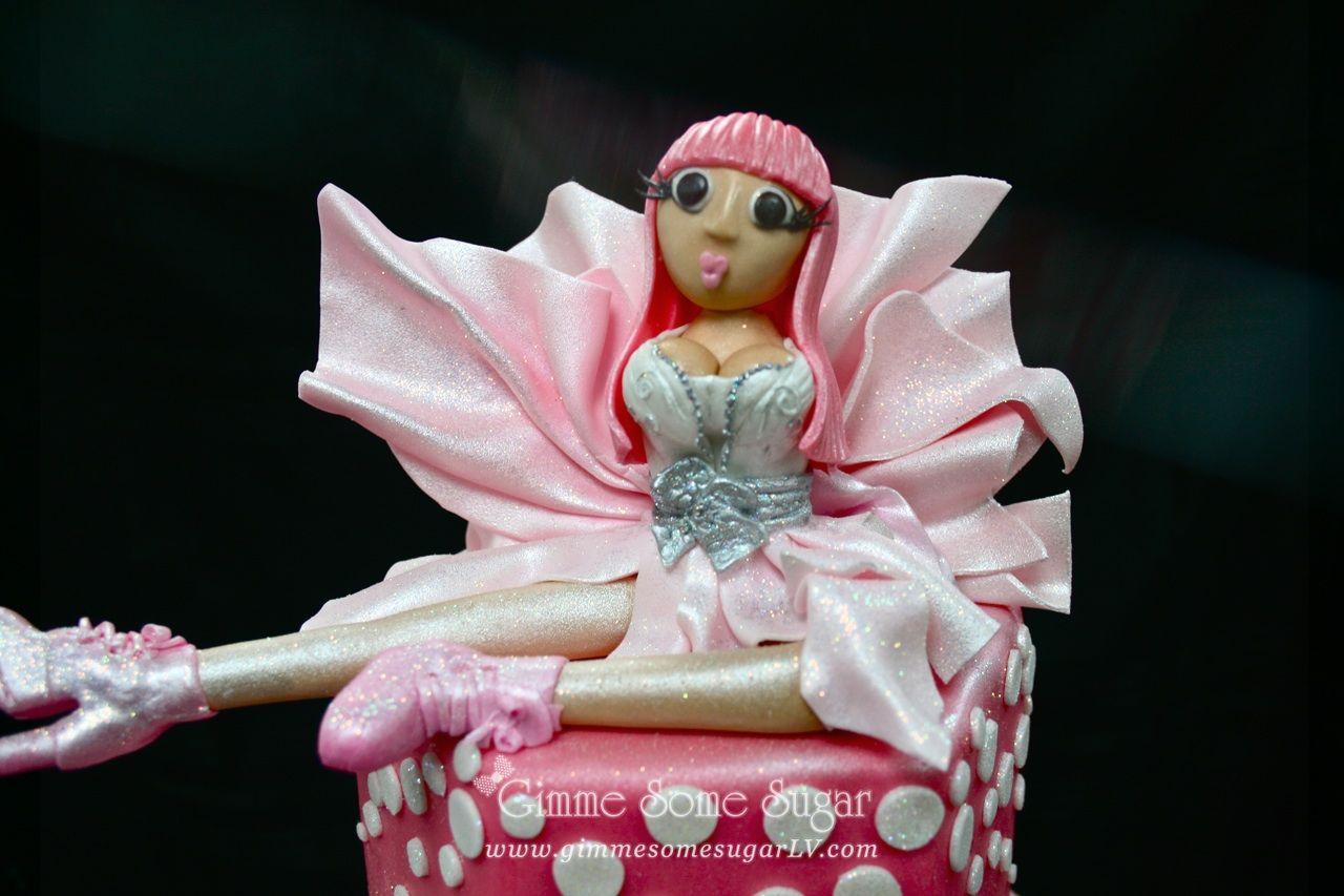 Nicki Minaj Edible Figurine For Her Birthday Cake