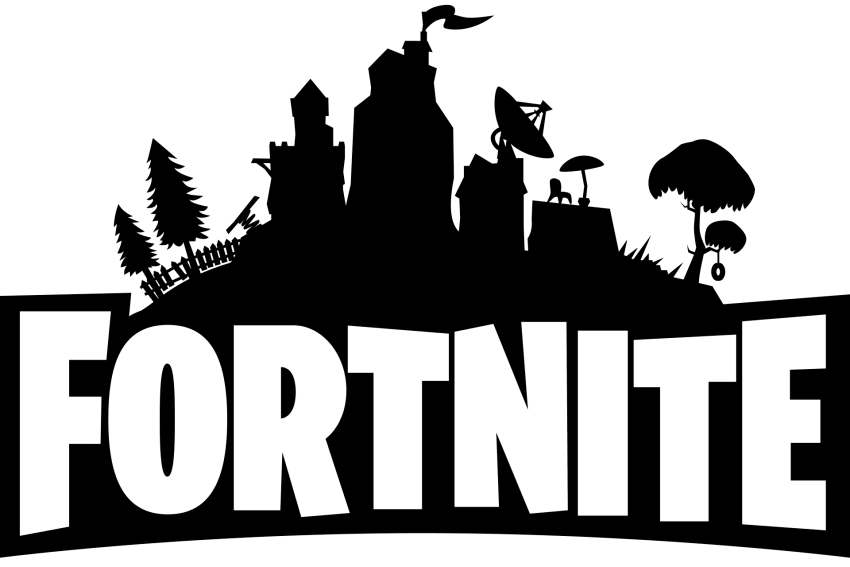 Fortnite Logo Black And White Png Free Png Images Png Free Png