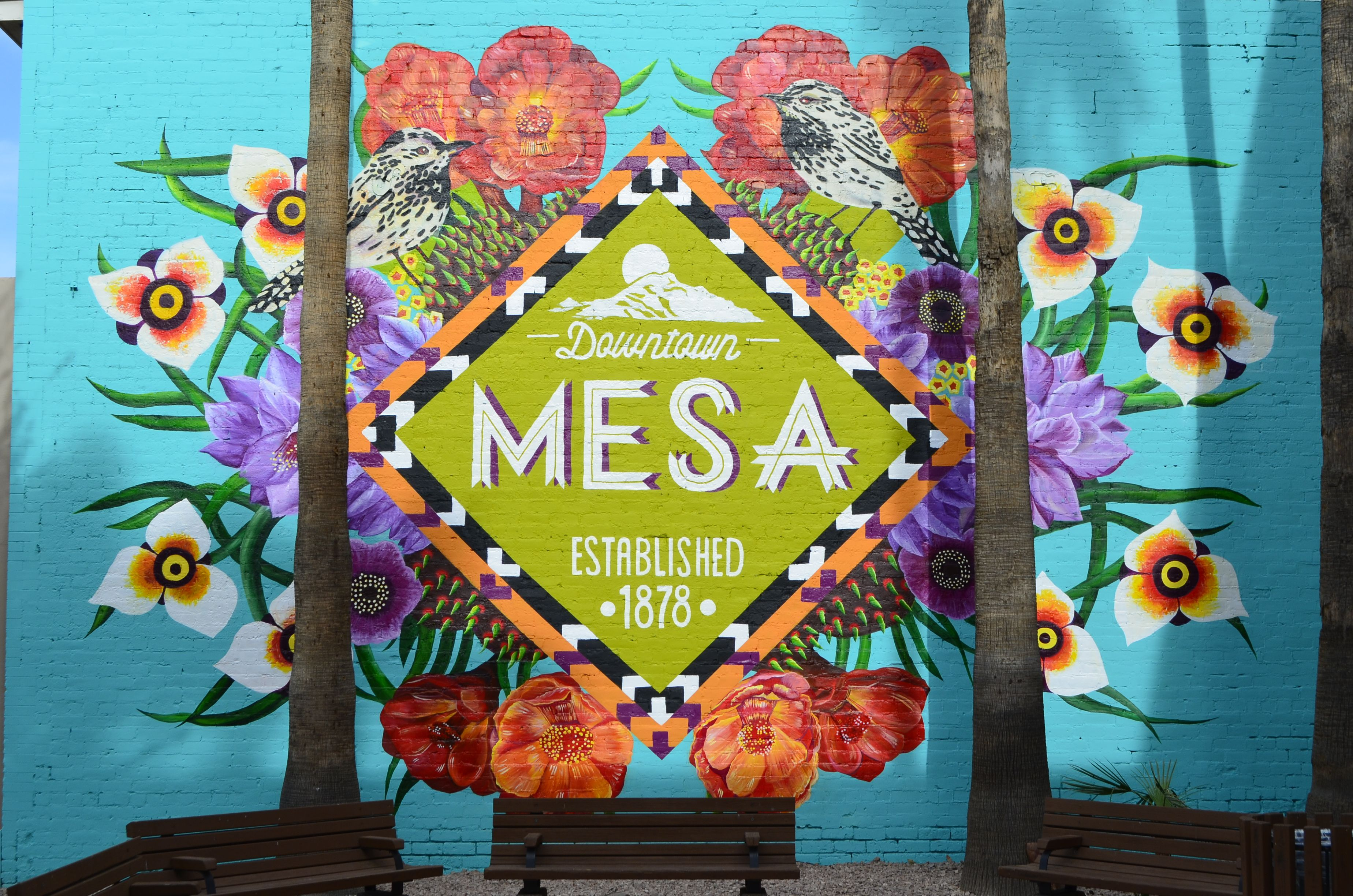 Downtown mesa is a vibrant community with something for