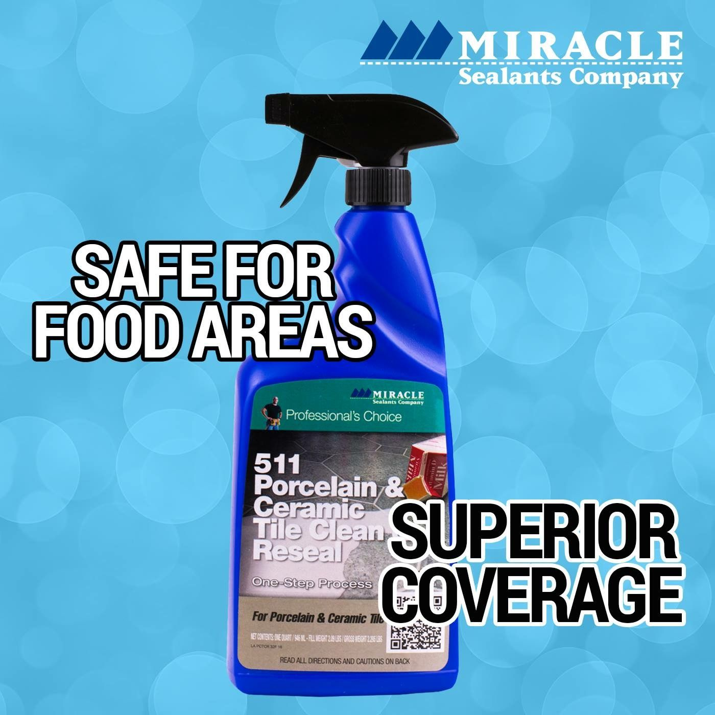 Get superior coverage with miracle sealants 511 porcelain ceramic get superior coverage with miracle sealants 511 porcelain ceramic tile clean reseal learn dailygadgetfo Images