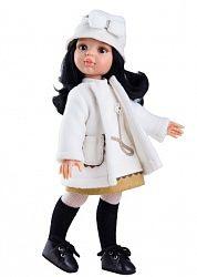Кукла Карина в белом пальто, 32 см. (Paola Reina, 04404_paola)