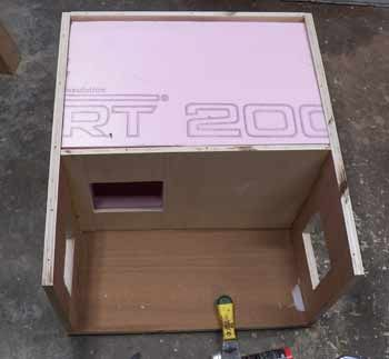 Outdoor insulated cat house plans