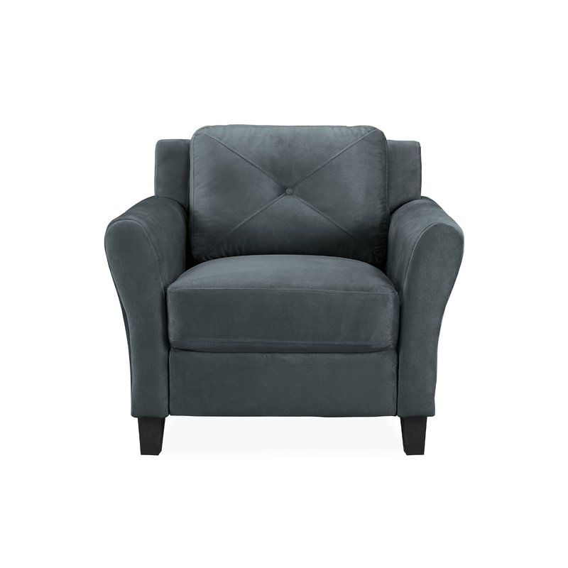 Liston Armchair | Armchair, Microfiber couch, Dining arm chair