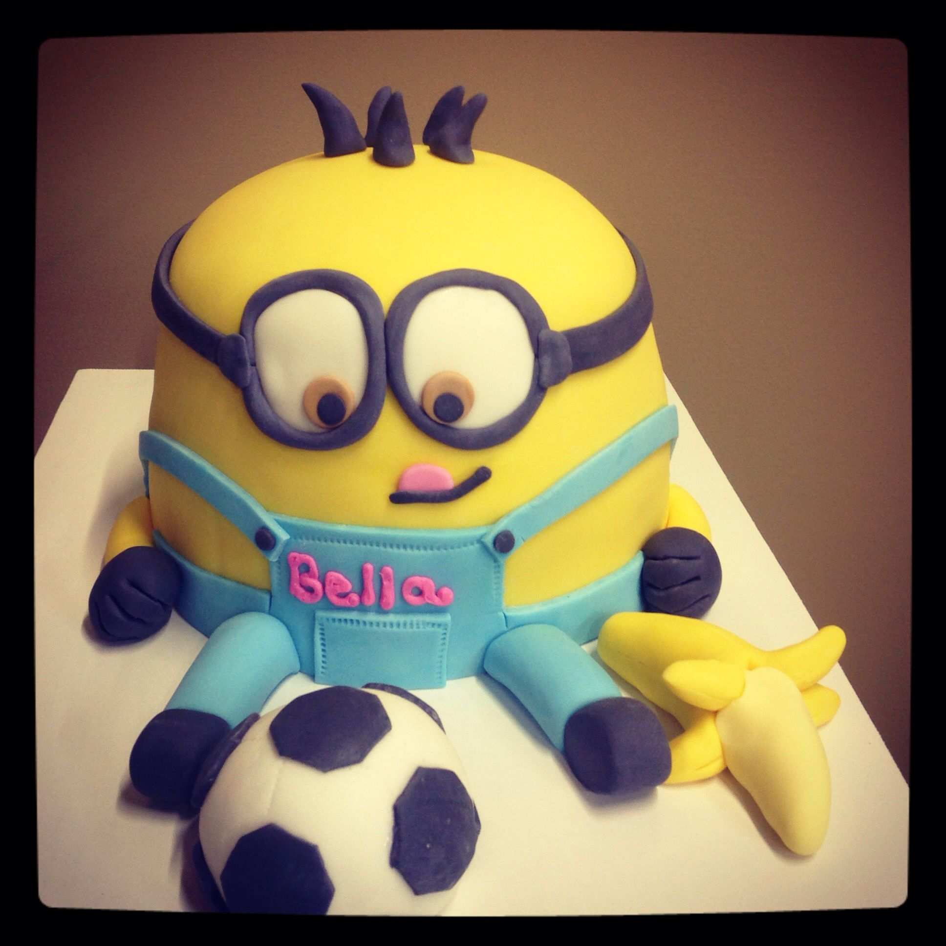 Minion cake! From Greer's Goodies Bakery in Bardstown