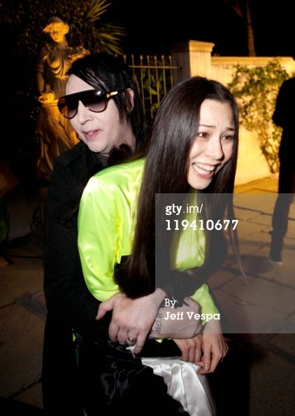 Musician Marilyn Manson And Actress China Chow Attend Lucrecia