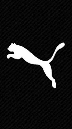 puma logo aufkleber