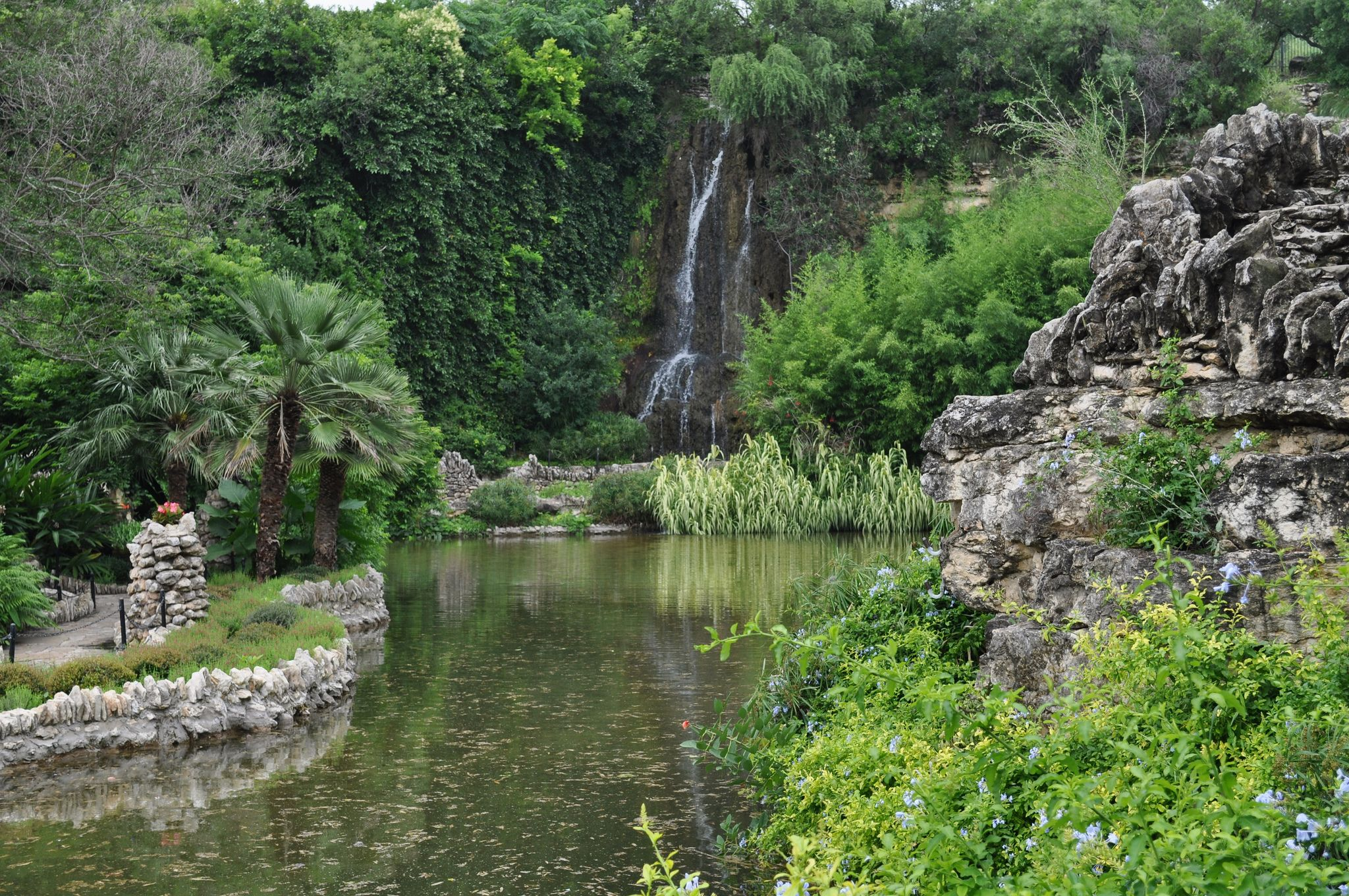 I sat in a quiet corner of the Tea Garden and just sat quietly, the sounds of the waterfall and birds chirping was soothing to the soul.