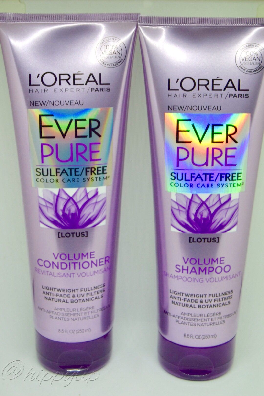 Loreal Ever Pure Sulfate Free Volume Shampoo And Conditioner Lotus