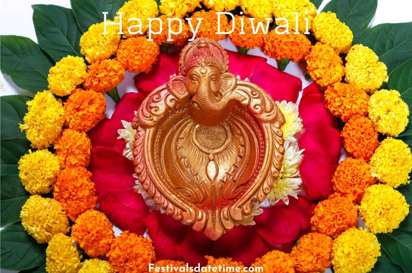 Diwali Rangoli Flower Images in 2020 Diwali images