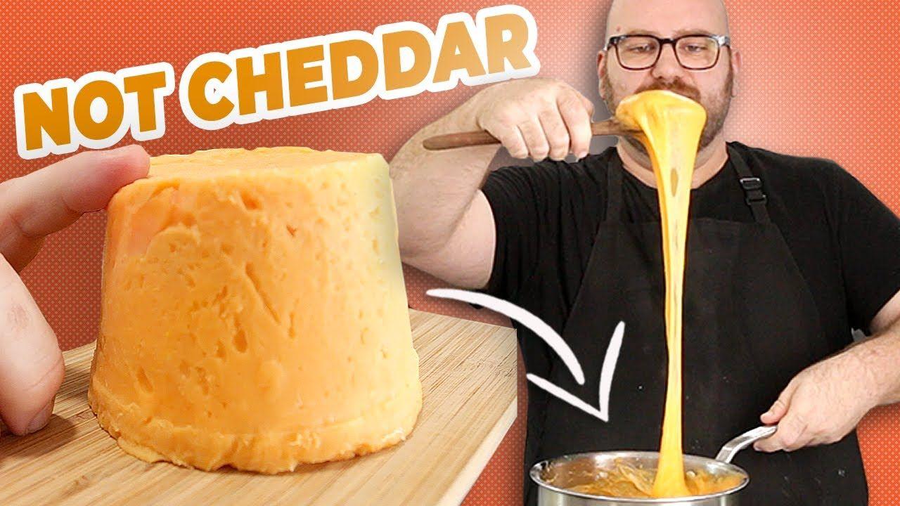 Make Incredibly Meltable Vegan Cheddar Slices At Home Youtube In 2020 Vegan Cheddar Food Vegan Cheddar Cheese