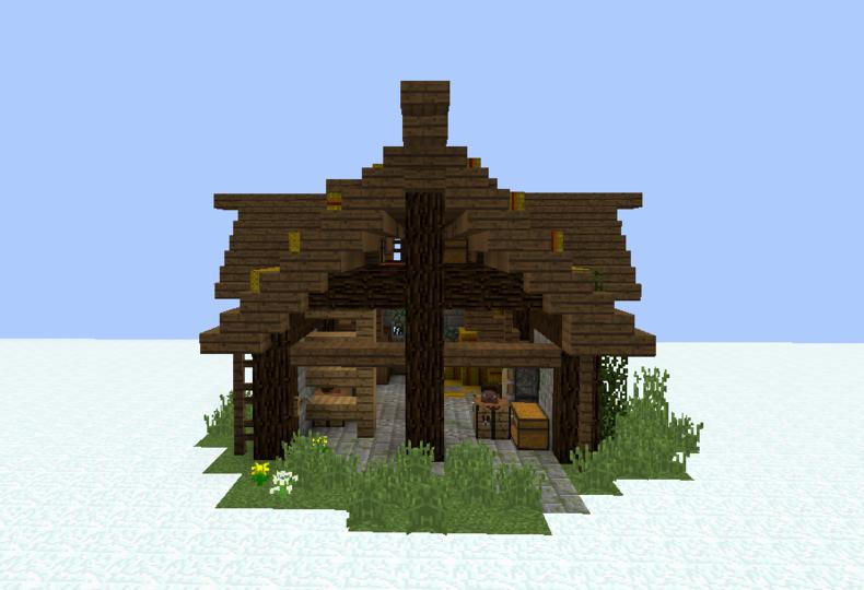 Medieval Village Storage House - Grabcraft
