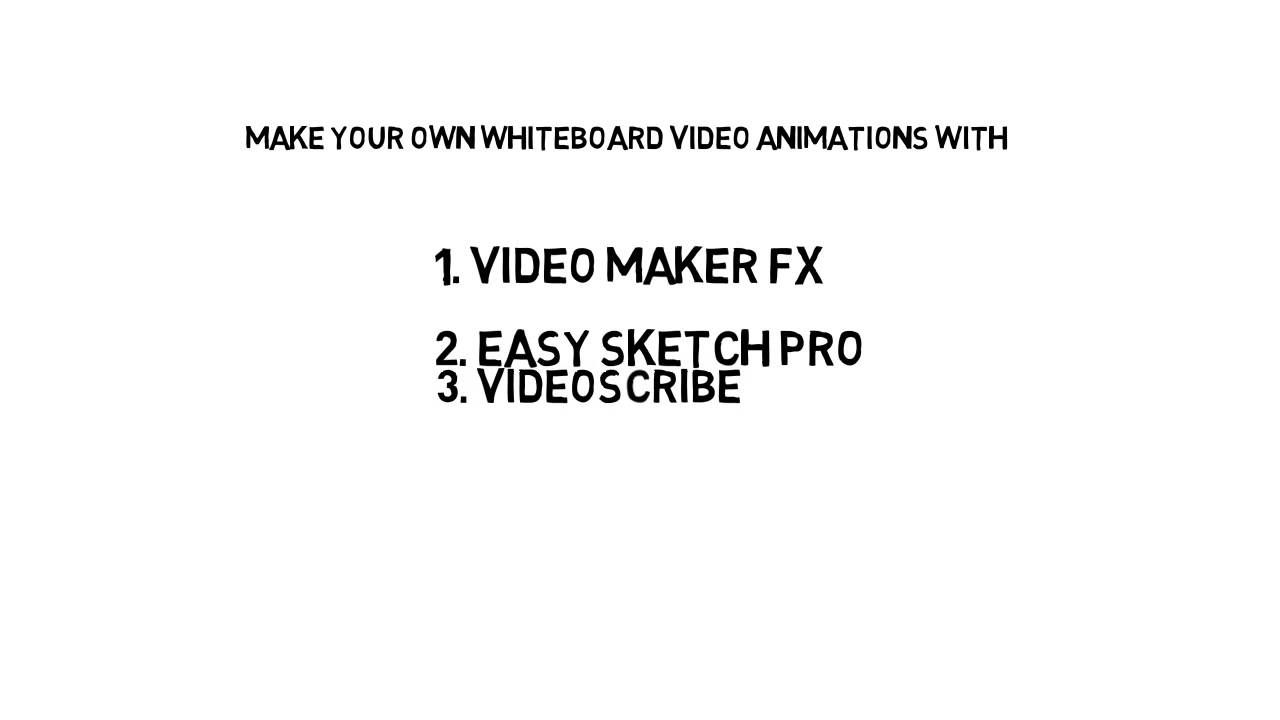hree Free Animation Software - Easy Sketch Pro,Video Maker FX ...