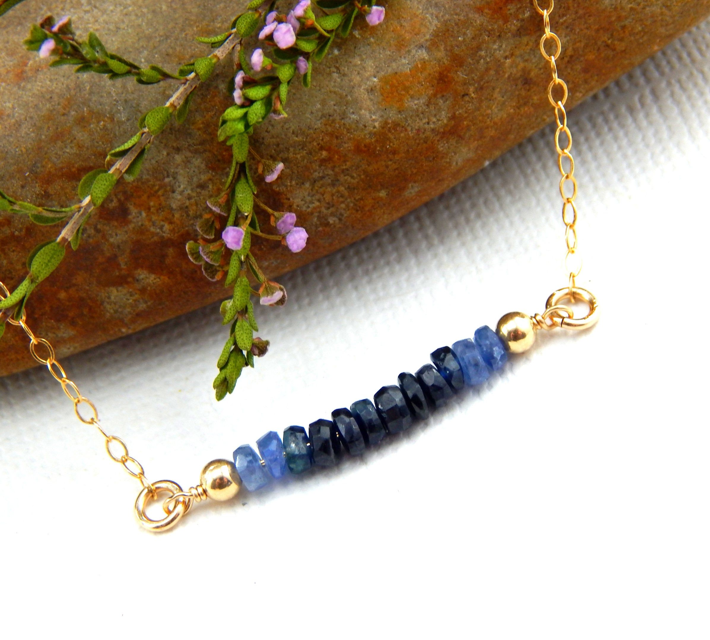 The month of September has one incredible birthstone! Blue