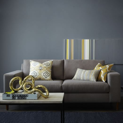 York Sofa Mink West Elm Furniture Pinterest