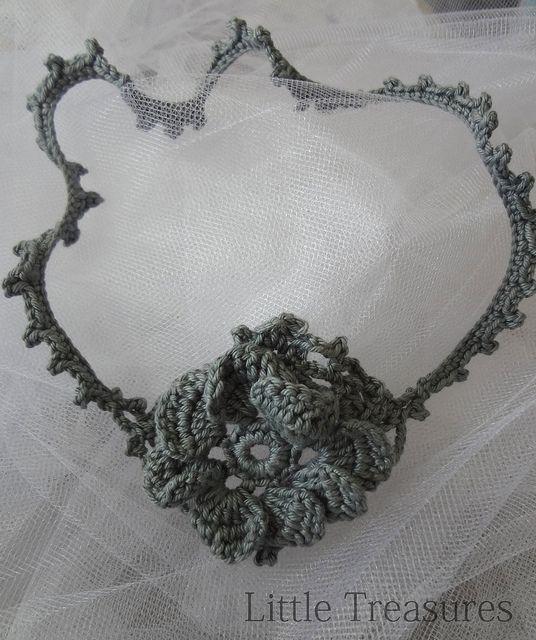 Bridal Headband 3 by Little Treasure, via Flickr