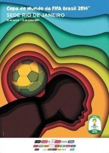 Foi escolhido o poster da Copa do Mundo 2014 no Rio. O que você achou?