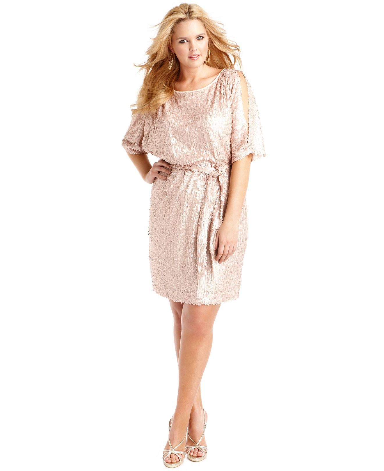 Jessica Simpson Plus Size sequin dress. Love it! | Looks I like ...
