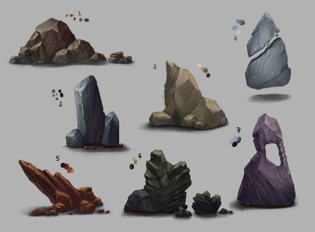 Concept Art Rocks