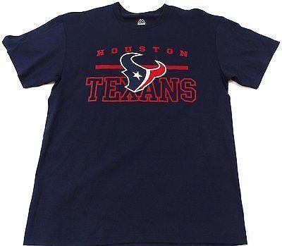 Houston Texans NFL Team Apparel Short Sleeve Tshirt Size L