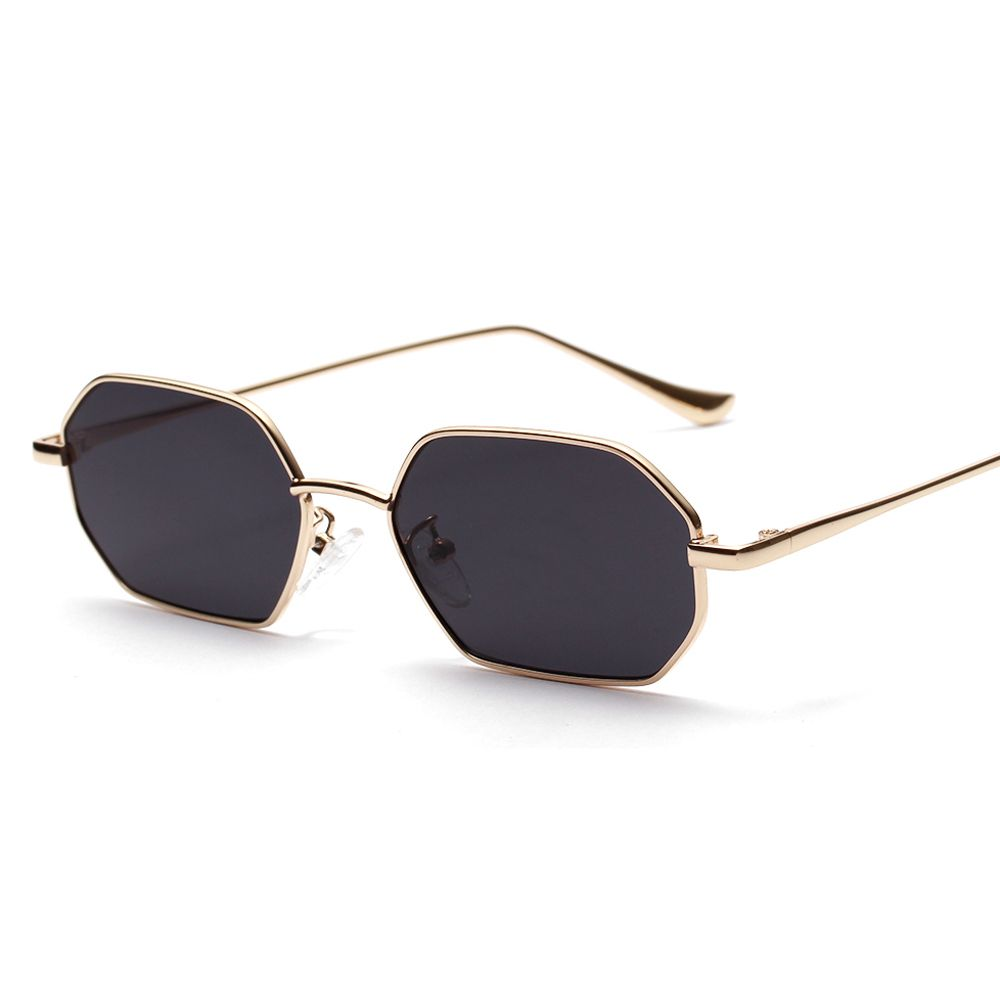 Gold Frame /& Gold Lens Unisex Women Men Vintage Retro Fashion Aviator Mirror Lens Sunglasses Glasses US