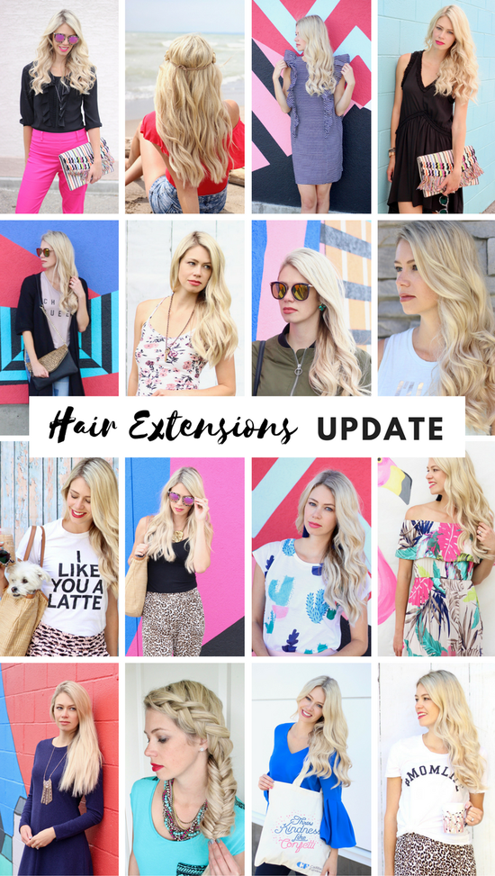 Hair Extension Update Youtube Video Blonde Clip In Hair