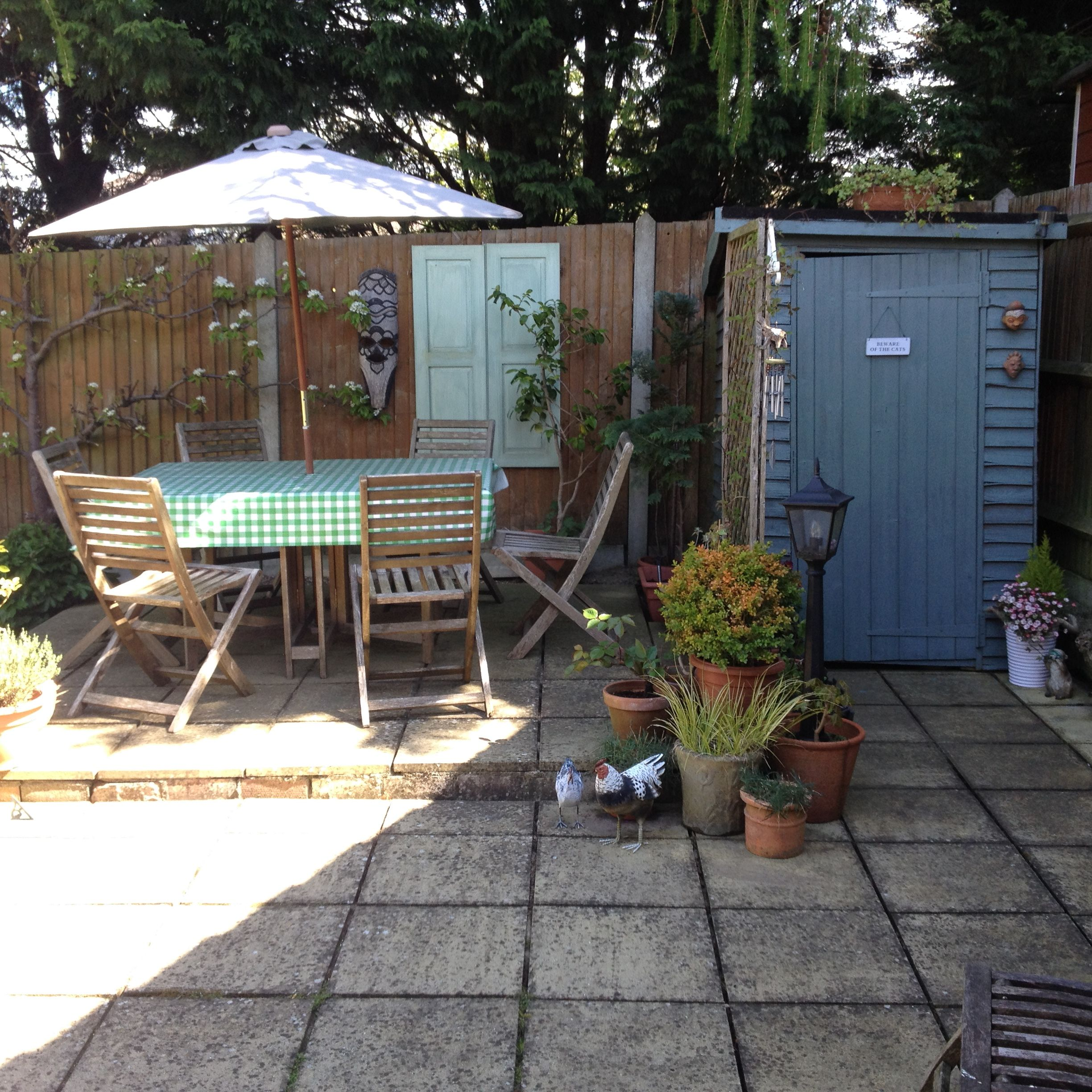 Garden Sheds B Q revamped little old garden shed painted in b&q cuprinol garden