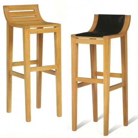 Tabouret de bar et snack contemporain en ch ne d co maisons hotels restaurants for Tabouret bar contemporain