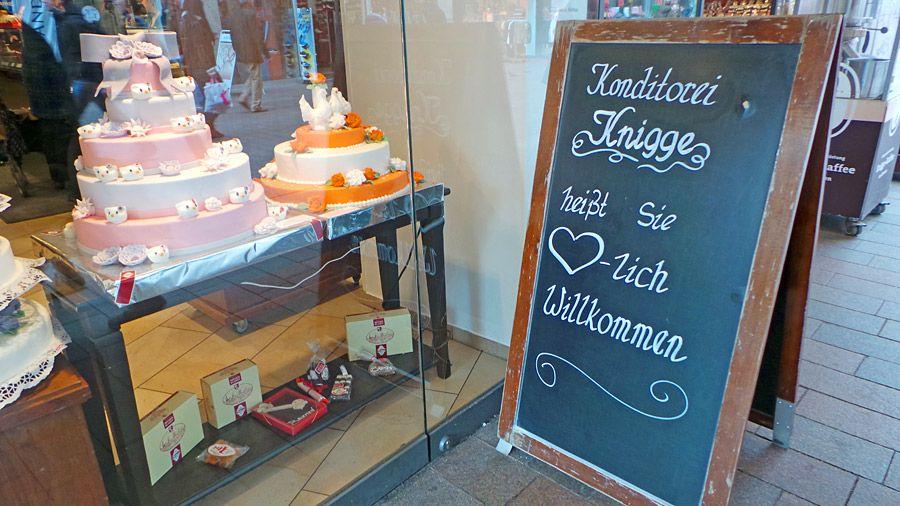 Knigge Bremen konditorei knigge eine bremer institution essen trinken