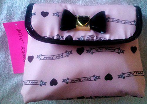 Betsy Johnson Fold Out Cosmetic Purse Pink Betsey Johnson http://www.amazon.com/dp/B00TFYCH7Q/ref=cm_sw_r_pi_dp_tXWFwb0VMFW58
