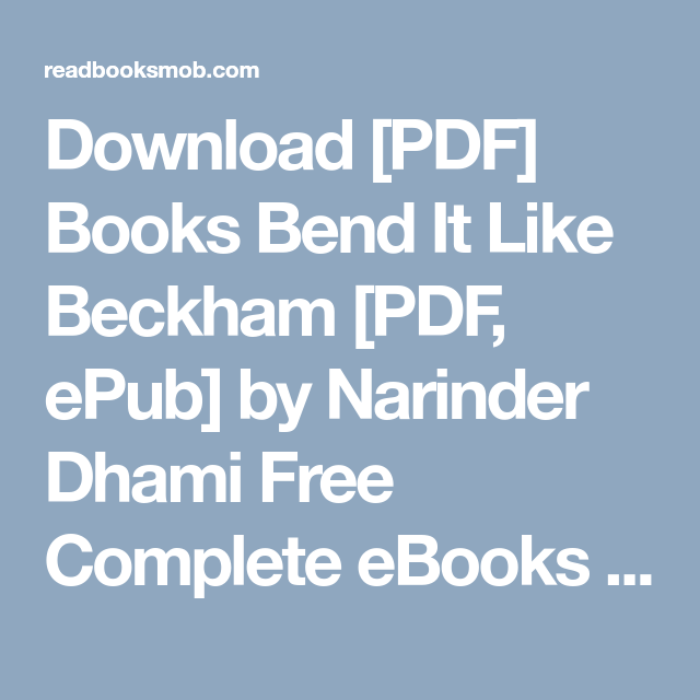 bend it like beckham free download