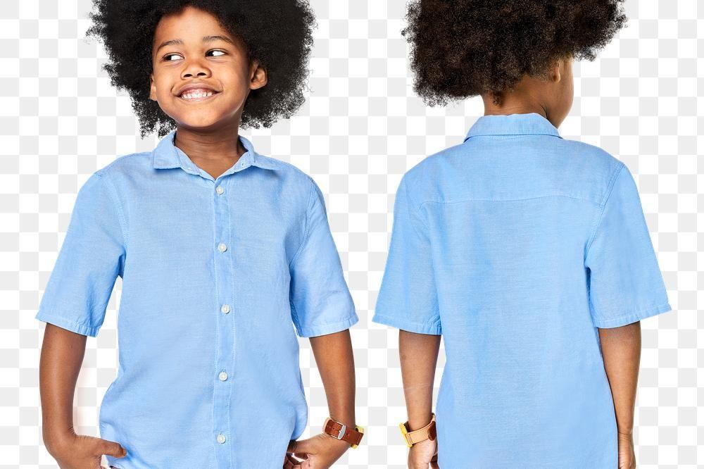 Png Black Boy Wearing Blue Shirt Mockup Free Image By Rawpixel Com Oreo Dark