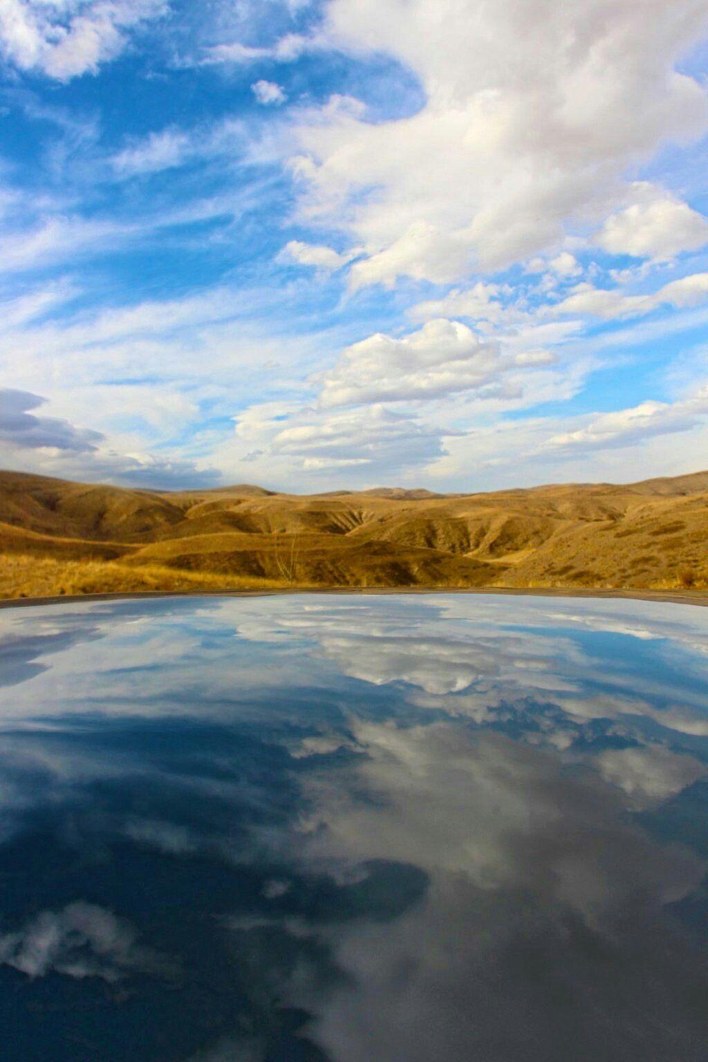 Reflect, Around the Mashad, Iran Photo by FatemeZahraS  Canon 700D