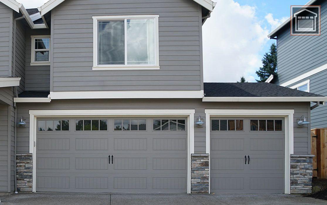 Double Door Multiple Garage Doors Or Just A Single Garage Door Usually Has A Spring Inside It Is An Easy Garage Doors Garage Service Door Single Garage Door