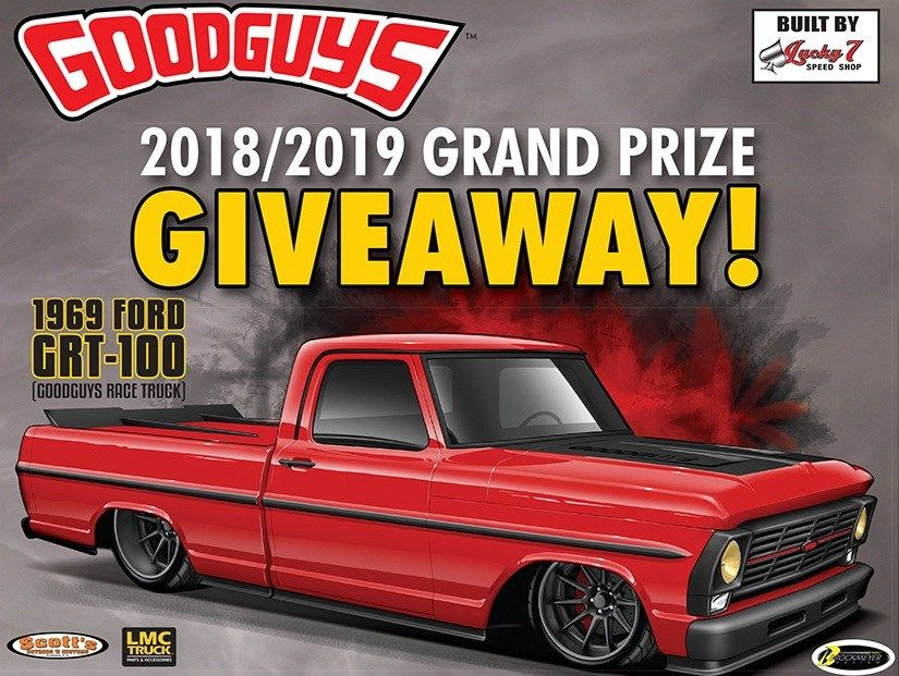 Goodguys Grand Prize Giveaway Win 1969 Ford GRT 100