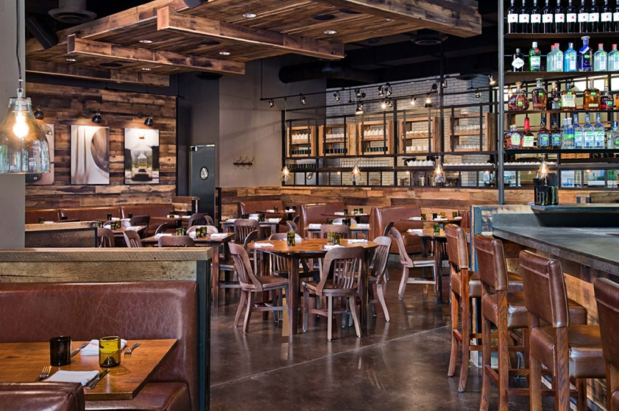 Antique Hardwoods, Reclaimed Barnwood, Restaurant