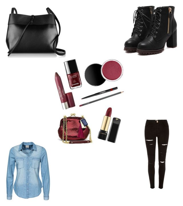 """""""Untitled #122"""" by nihada106 ❤ liked on Polyvore featuring Kara, River Island, Vero Moda, women's clothing, women, female, woman, misses and juniors"""