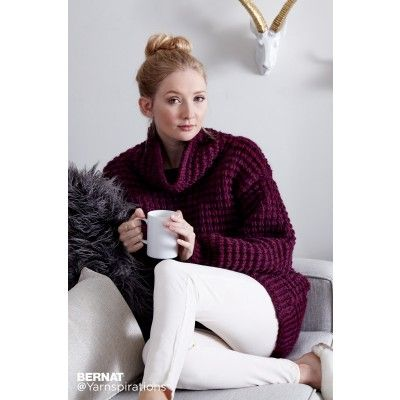 Free Easy Knit Pullover Pattern Spend Those Cold Nights Snuggled