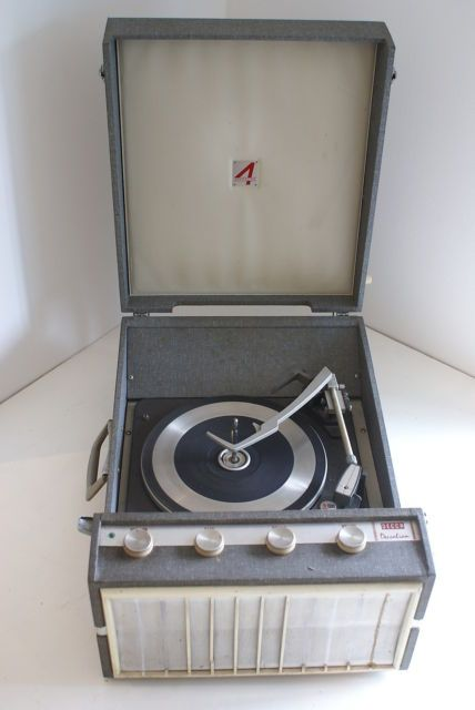 Vintage Record Player Decca Deccalia Turntable in 2019