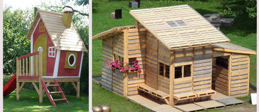 Hoy en nuestro blog te ense amos como construir una casita for Casita infantil jardin