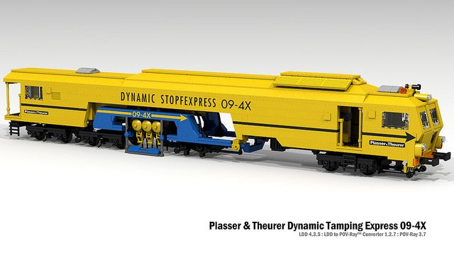 Plasser & Theurer Dynamic Tamping Express 09-4X | Flickr - Photo Sharing!