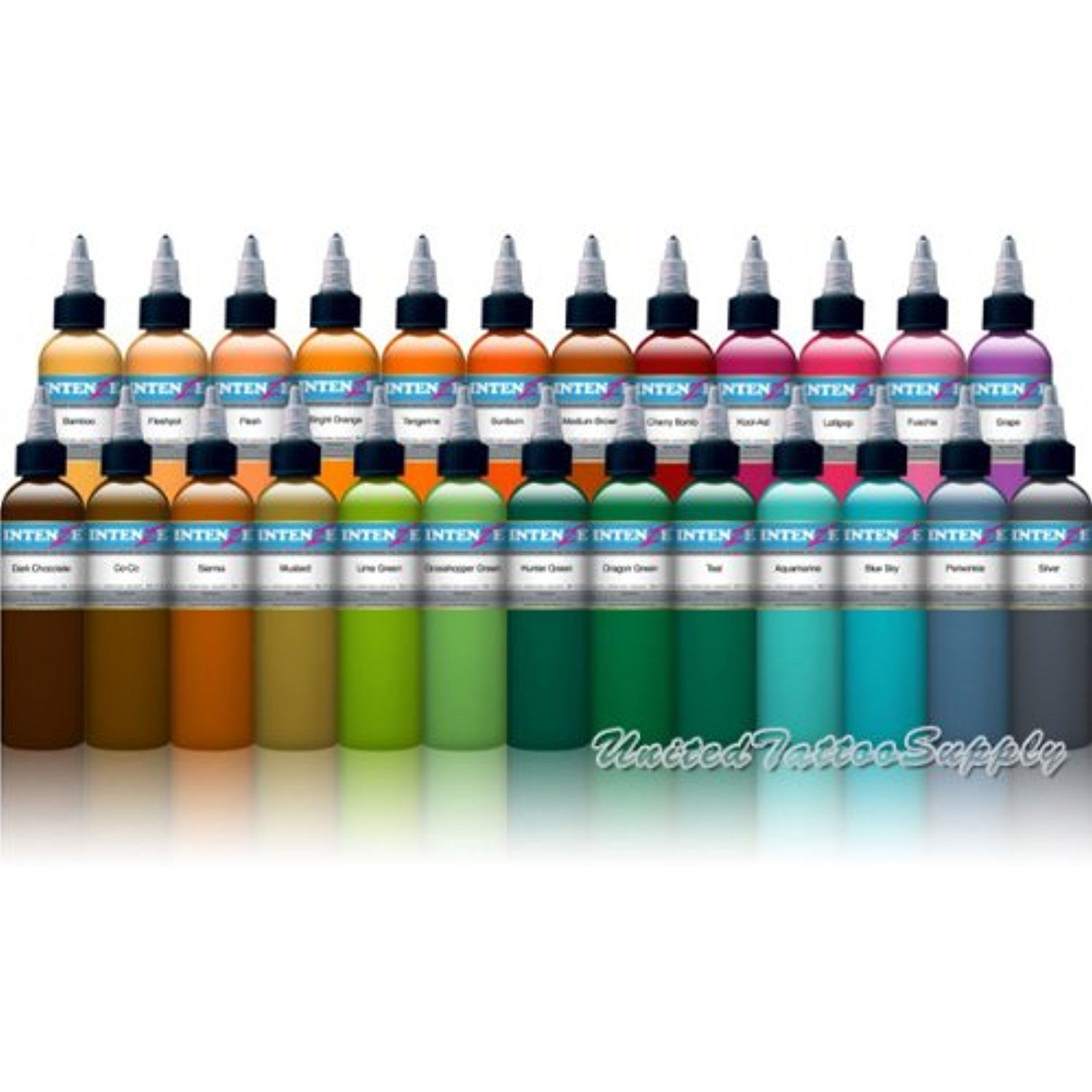 Intenze Color Tattoo Ink Sets 1 Oz 25 Color Tattoo Ink Set To View Further For This Item Visit The Image Link Tattoo Ink Sets Ink Tattoo Best Tattoo Ink