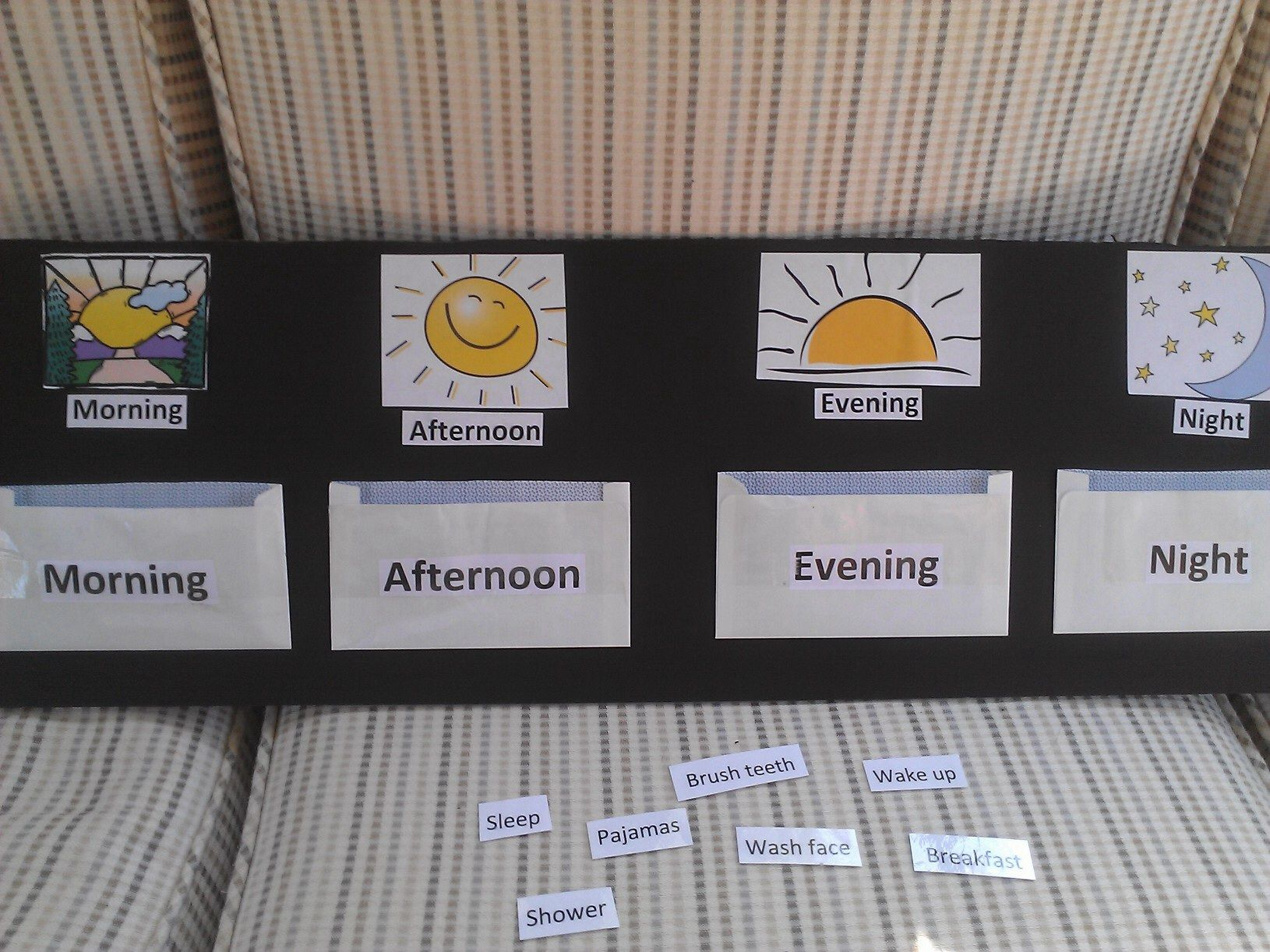 Resultado de imagen de in the morning in the afternoon in the evening at night games
