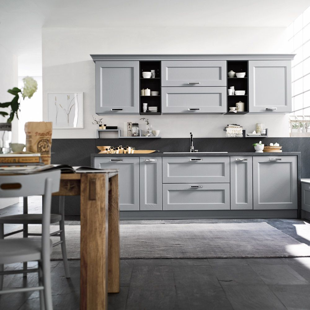 Cucina asolo dibiesse cucine stile nordico e colori tenui - Mobili stile nordico ...