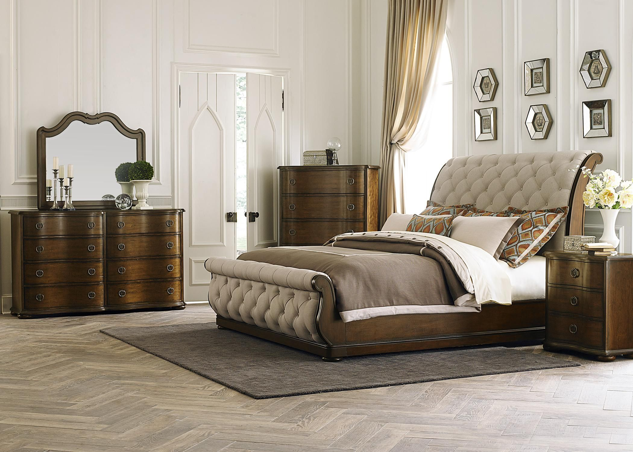Cotswold King bedroom group at Royal Furniture Designed by Liberty