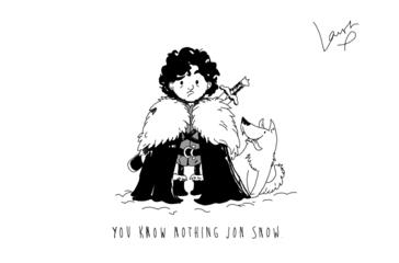 You Know Nothing Jon Snow. *GOT Jon&Ghost*