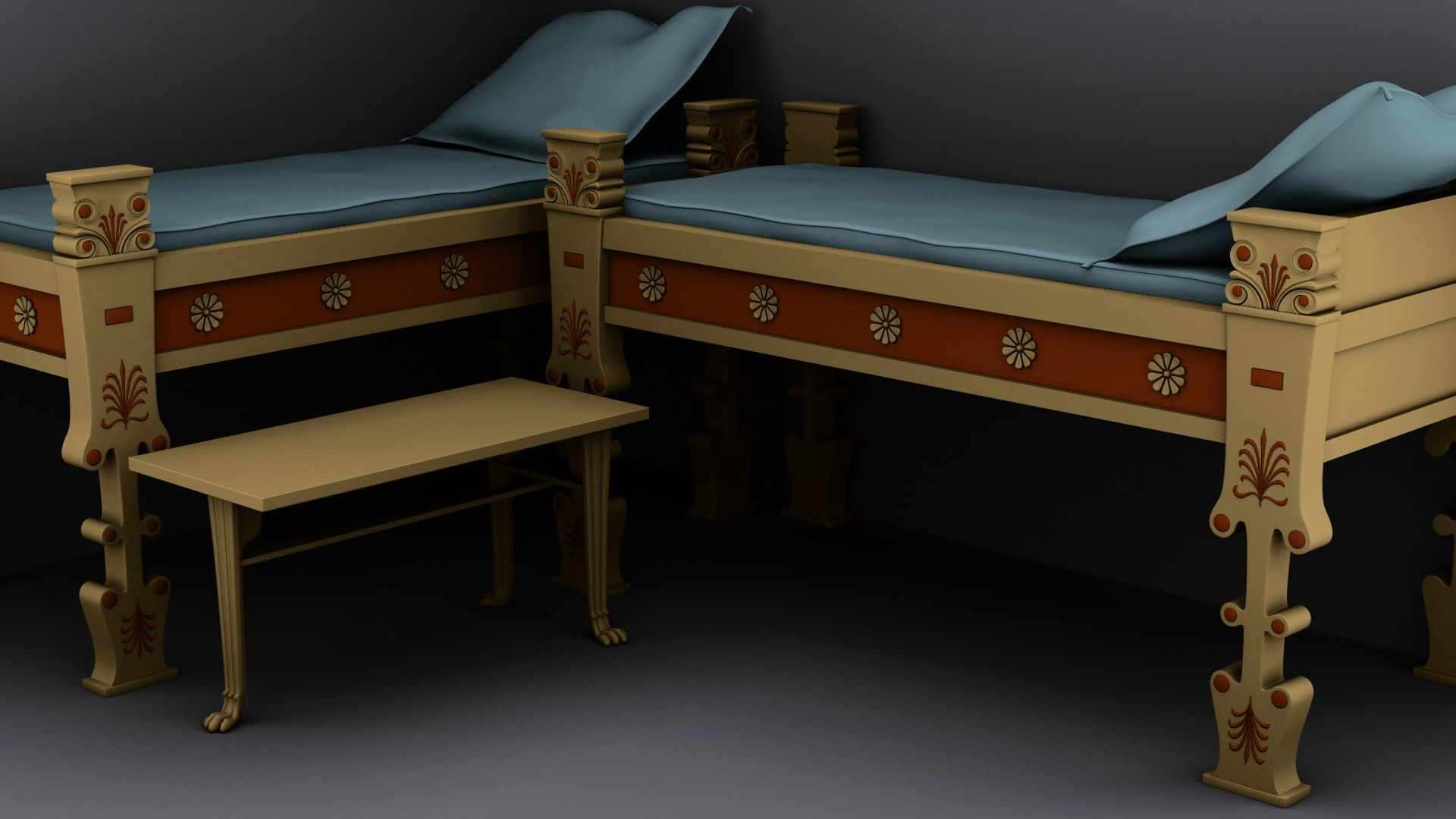 Ancient greece furniture - Ancient Greek Furniture George Thanos