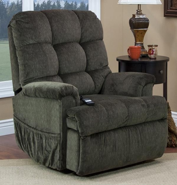 Med Lift Reclining Sleeper Power Lift Chair With Tv Position And Full Chaise Pad Cabo Sage Fabric 5555 Cas Lift Chairs Chair Comfy Living Room Furniture